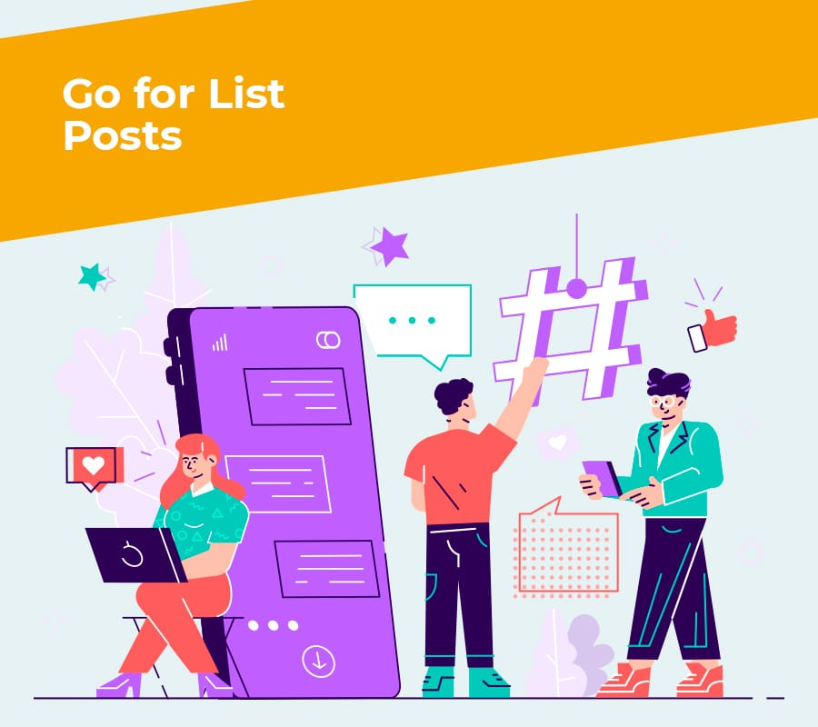 go for list posts