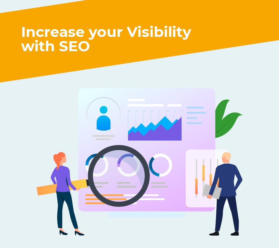 increase your visibility with seo