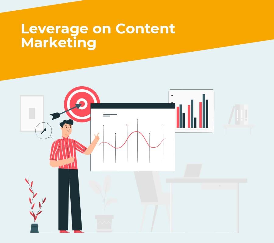 leverage on content marketing