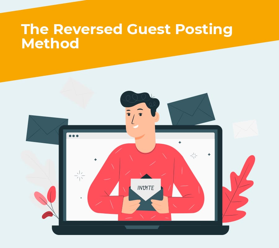reversed guest posting method