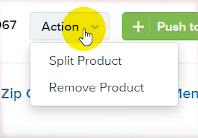 split-product-action