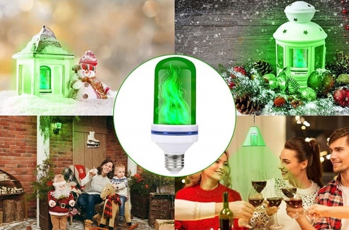 Led-Lamp-with-Green-Flame-Effect