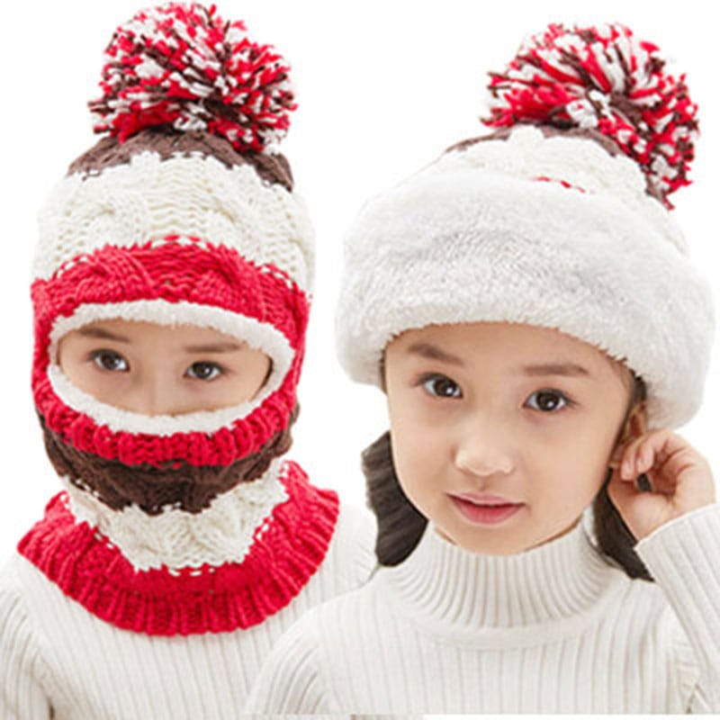 Winter-Hat-with-Scarf-and-Mask-for-children
