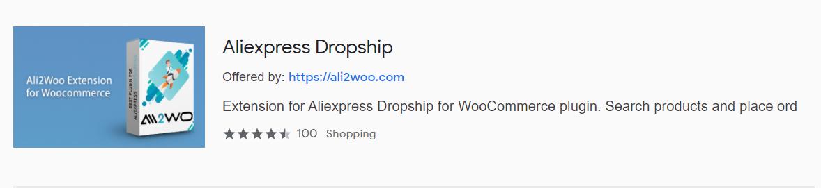 Ali2Woo google chrome extension web store
