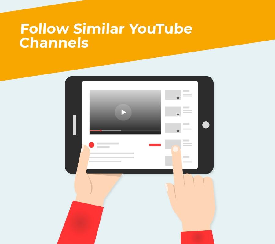 follow similar youtube