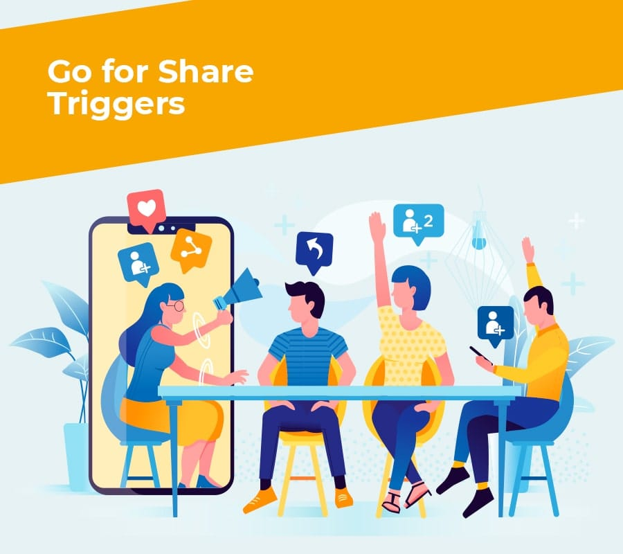 go for share triggers