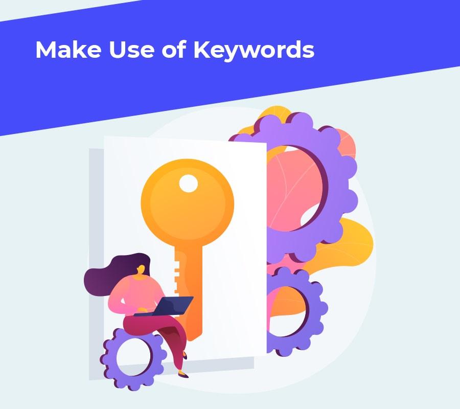 Make use of keywords min