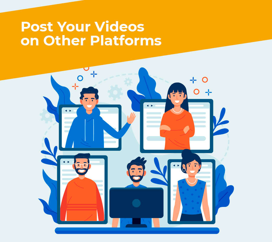Post your videos