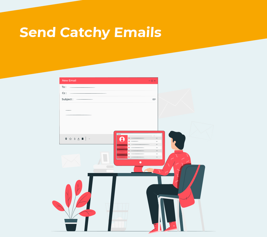 Send catchy emails