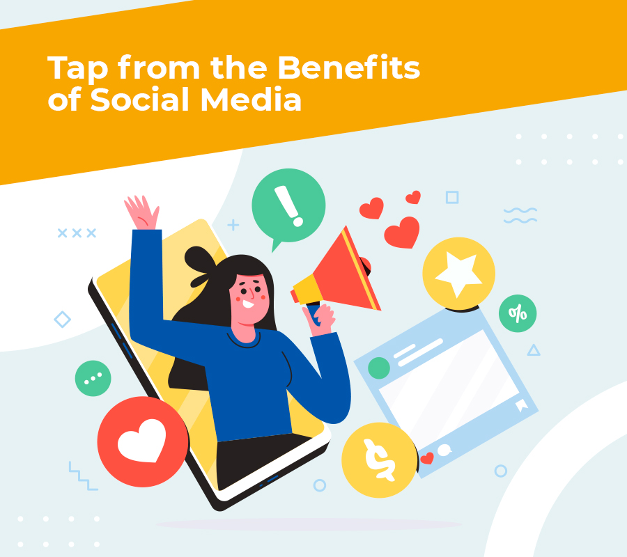 Tap from the benefitsofsocial media