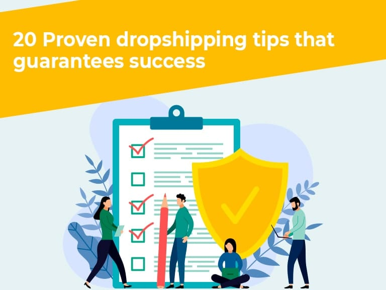20 proven dropshipping tips