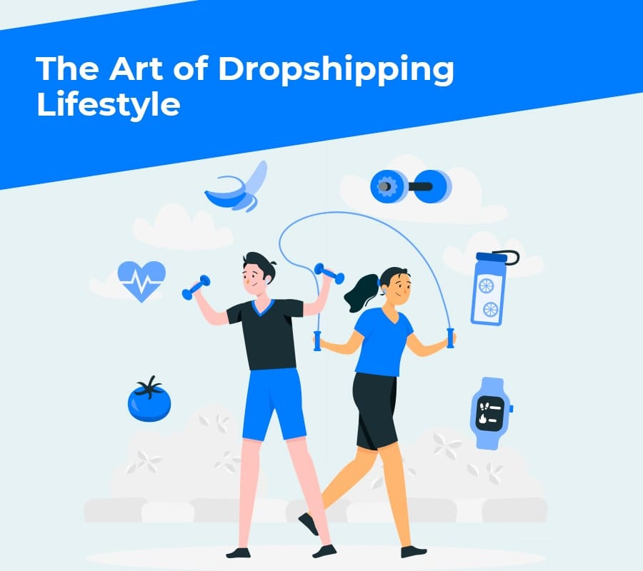 The art of dropshipping lifestyle min