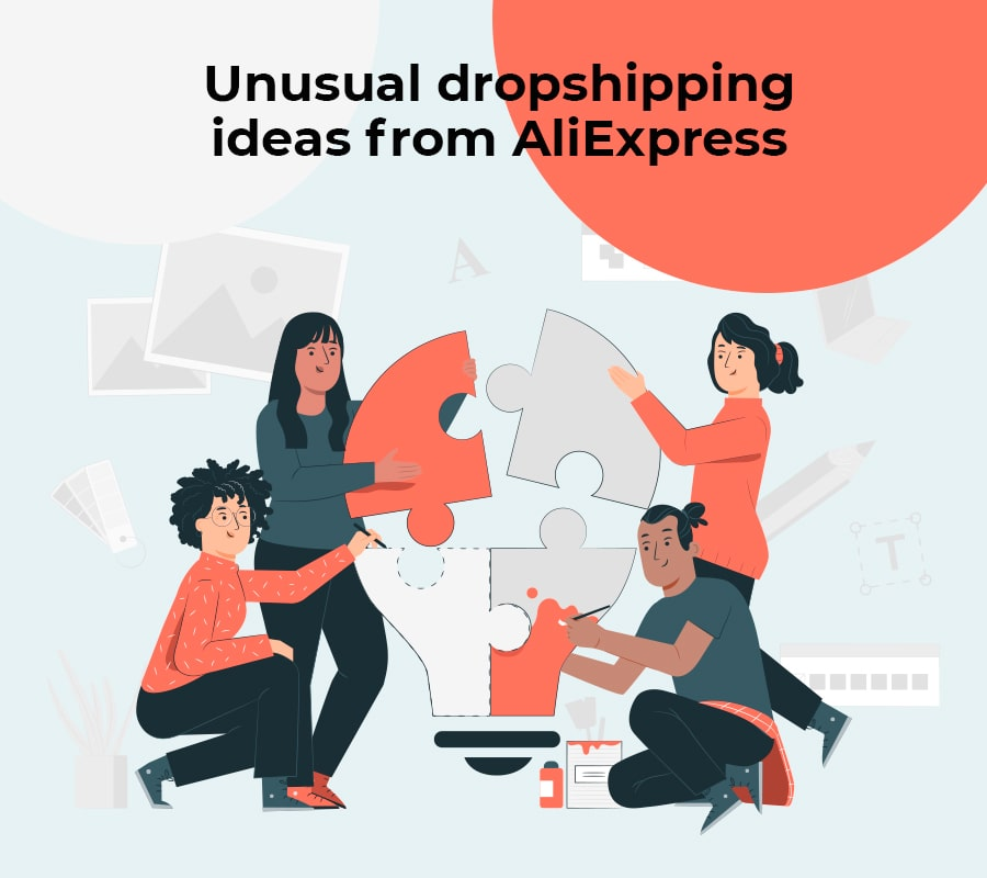 unusual dropshipping ideas from aliexpress